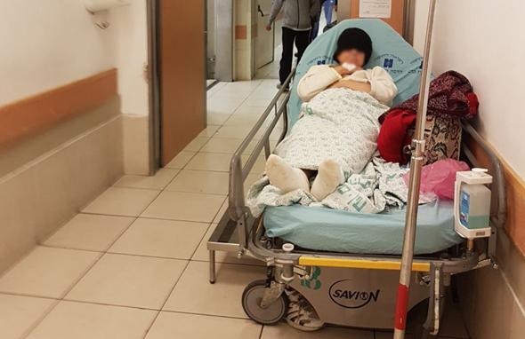 חדר מיון בבית חולים הדסה עין כרם, ירושלים, צילום: יעל פרידסון