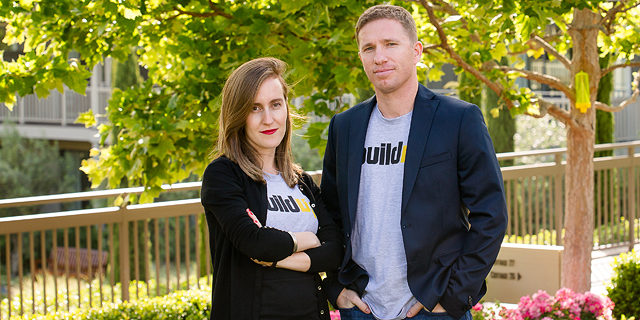 Buildup founders Yael Sherman and Oren Cohen