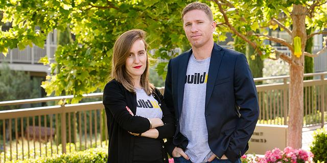 Buildup founders Yael Sherman and Oren Cohen