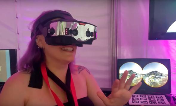 מציאות מוגברת מציאות מדומה אפל Vrvana , צילום: Vrvana
