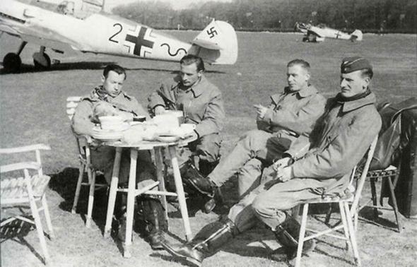 טייסי קרב בגרמניה הנאצית