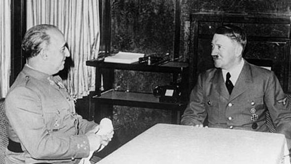 היטלר ופרנקו