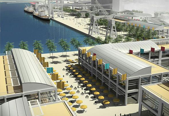 תכנית חזית הים העירונית. רציפי הנמל ייפתחו ויצטרפו למתחם