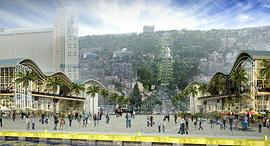 נמל חיפה זירת הנדלן 1, הדמיה: Ami Shinar- Amir Mann Architects & Planners