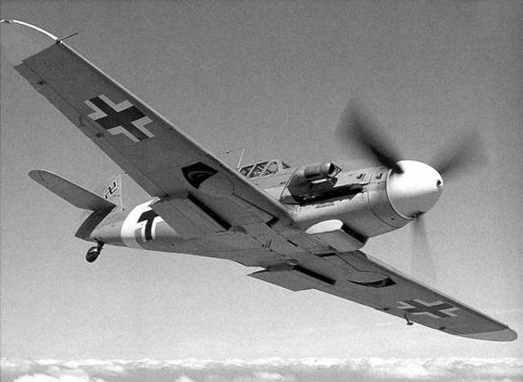 מסרשמיט 109 באוויר