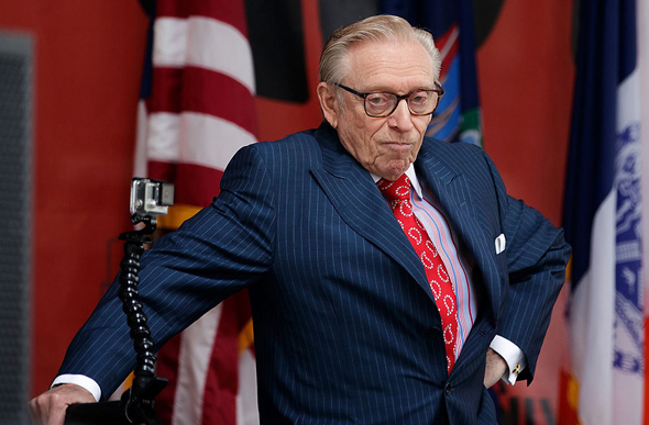 Larry Silverstein. Photo: Getty Images