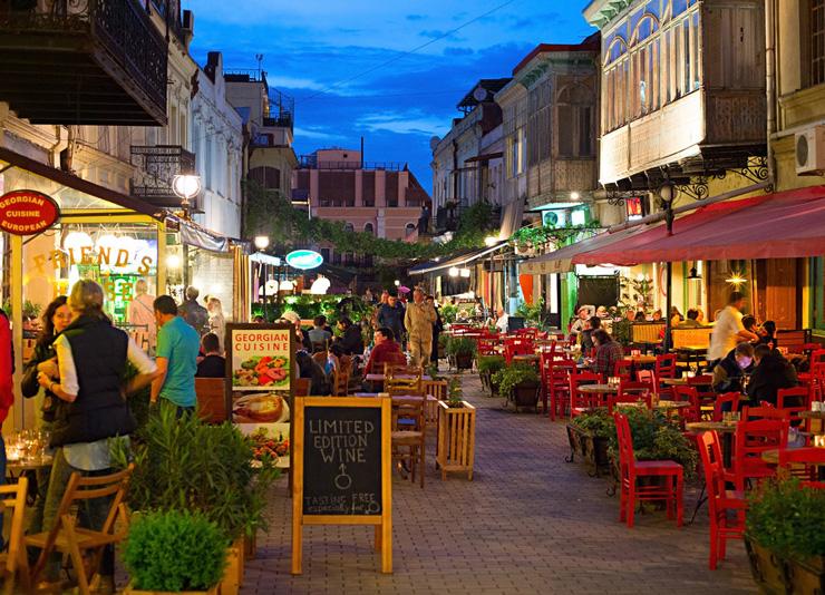 מפתיעה את המערביים. טביליסי בירת גאורגיה, צילום: שאטרסטוק
