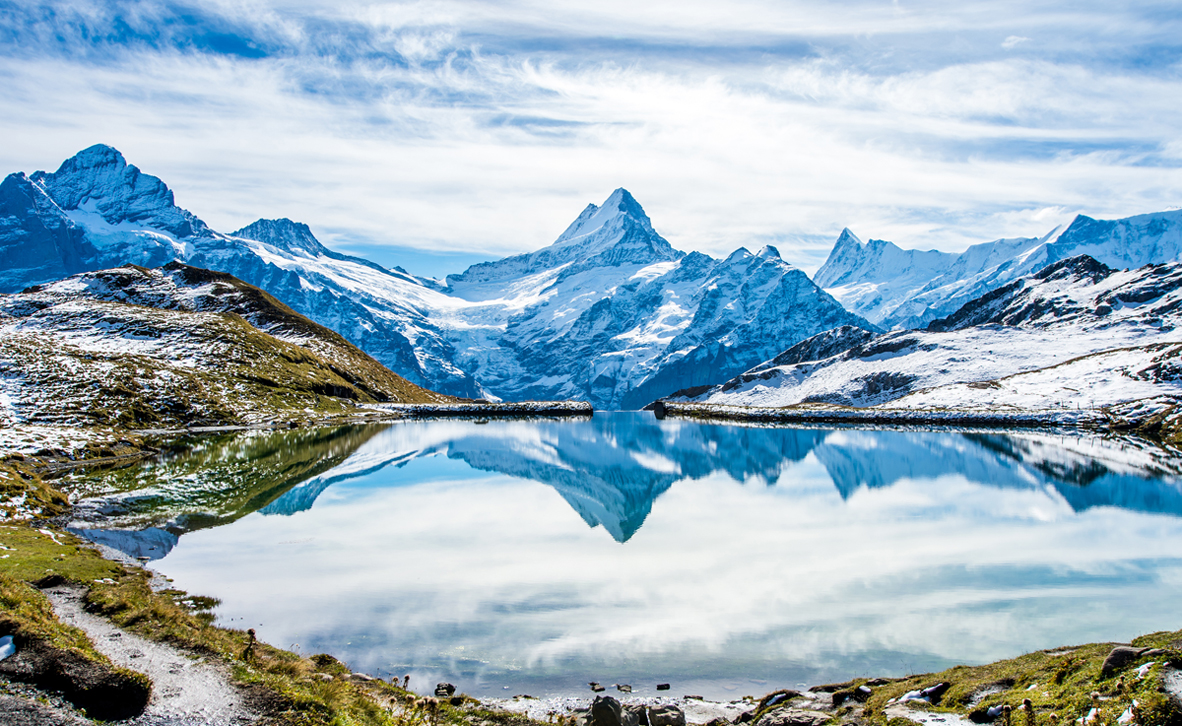 פוטו אתרים לטייל בחורף גרינדלווד שווייץ, צילום: שאטרסטוק
