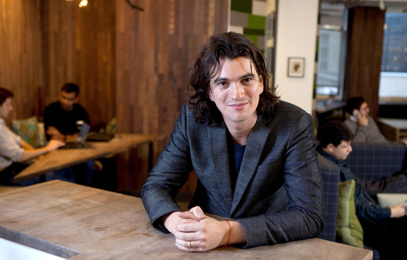 WeWork CEO Adam Neumann . Photo: Dan Kenan