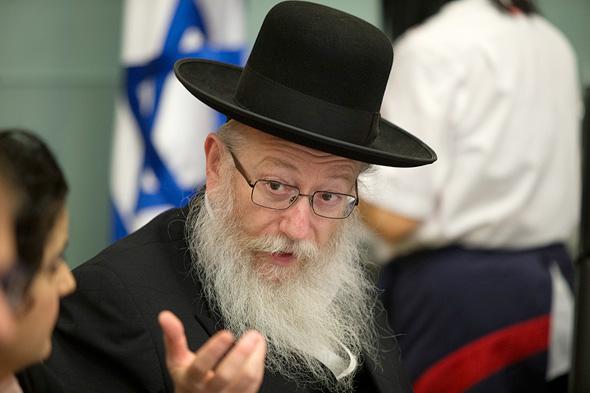 יעקב ליצמן, סגן שר הבריאות
