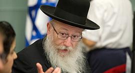 סגן שר הבריאות יעקב ליצמן, צילום: עמית שאבי
