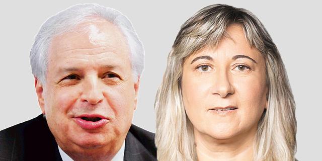 "מימין: זהבית כהן, מנכ""לית אייפקס ושאול אלוביץ"