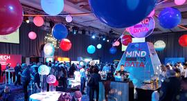 ועידת MIND THE DATA 2017 מינגלינג אווירה, צילום: עוזי בלומר