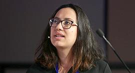 ועידת MIND THE DATA 2017 קארינה אודינייב מייסדת משותפת Cortica, צילום: אוראל כהן