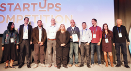 Intensix team wins Calcalist's startup competition. Photo: Amit Sha'al