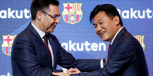 With Sports Sponsorship Deals, CEO Wants Rakuten to Become a Household Brand