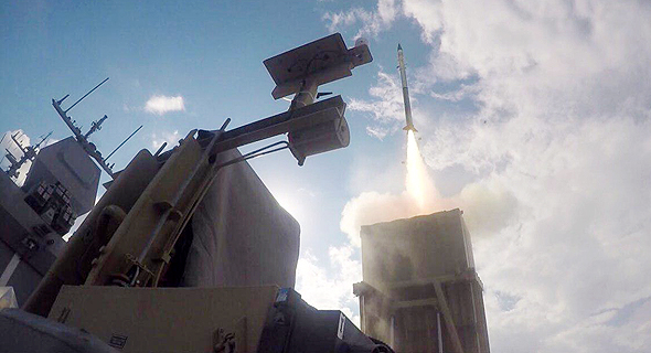 Naval Iron Dome. Photo: IDF Spokesperson