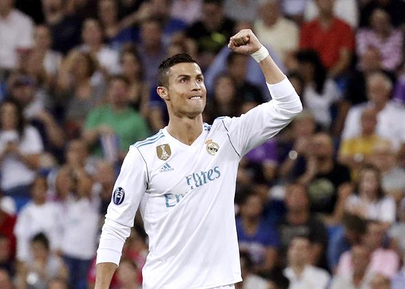 """רונאלדו. ההעברה שלו לריאל מדריד (94 מיליון יורו) היתה """"עסקה הרבה יותר סבירה"""" , צילום: אי פי איי"""