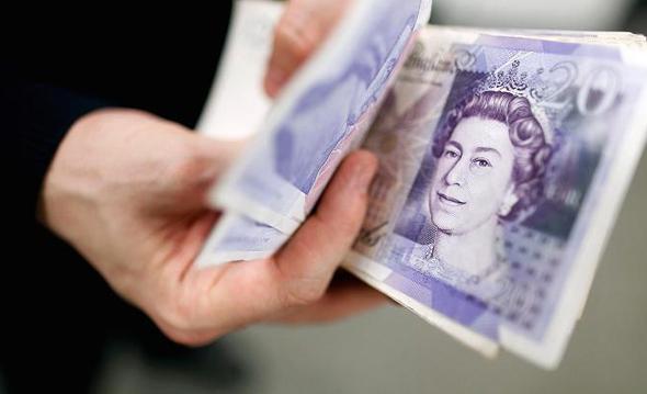 לירה שטרלינג פאונד ברקזיט בריטניה כסף, צילום: Getty