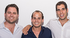 Left to right: Yair Vardi, Guy Katsovich, and Simon Legziel. Photo: Fusion LA