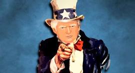 דונלד טראמפ איור זירת הנדלן, צילום: kalhh