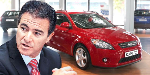 יוסי כהן עם מכונית קאיה, צילום: אוראל כהן, עומר מסינגר