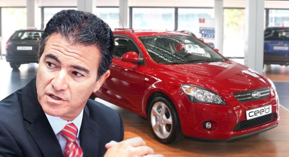 יוסי כהן עם מכונית קאיה