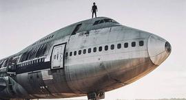 הקברניט מטוס ישן מטוס נוסעים 1