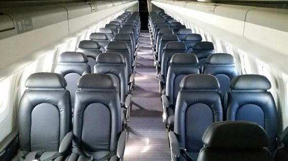 המטוס הזה נראה לכם סגפני מבפנים? הפתעה: זה הקונקורד