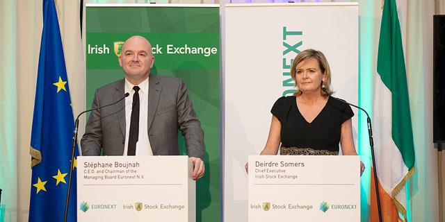 יורונקסט מתרחבת: רכשה את הבורסה האירית ב-137 מיליון יורו