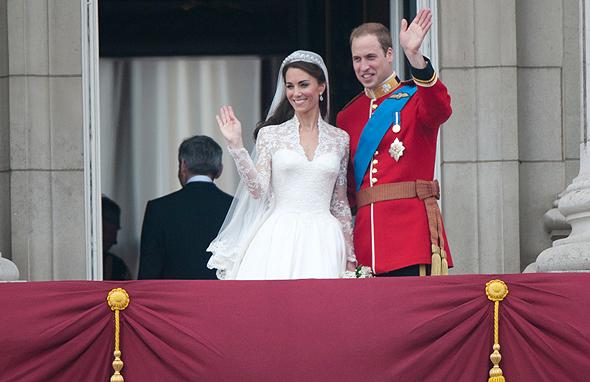 החתונה של וויליאם וקייט מידלטון באפריל 2011. הקמעונאים הבריטיים ציפו לזינוק משמעותי בפדיון, והתאכזבו