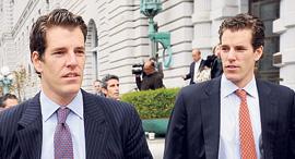 התאומים קמרון ו טיילר ווינקלבוס, צילום: בלומברג