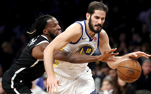 Omri Casspi in Golden States Warriors uniform. Photo: AFP