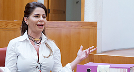 דיון בענינה של ענבל אור בבית המשפט העליון ירושלים, צילום: עמית שאבי
