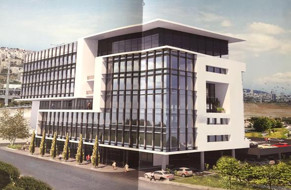 """הדמיית הבניין במת""""מ 2"""