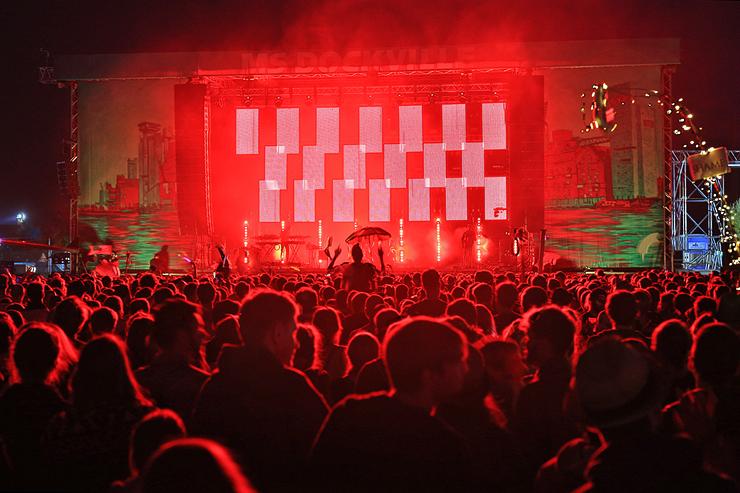 פסטיבל MS Dockville, המבורג, צילום: שאטרסטוק