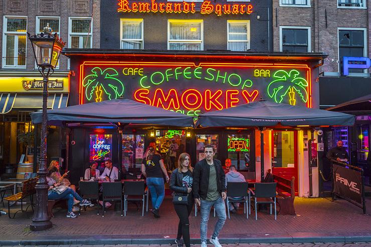 קופישופ סמוקי, אמסטרדם, צילום: שאטרסטוק