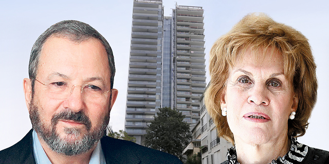 """אהוד ברק וגליה מאור נגד הקומות התחתונות במגדל אסותא בת""""א"""