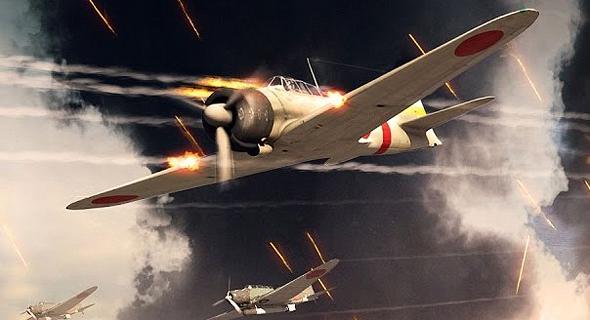 מטוסי זירו יפניים בפעולה. חכו שתשמעו מה עבר על הטייסים שלהם