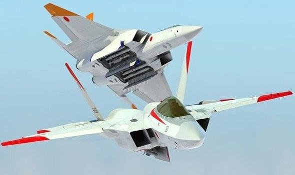 עיצוב קונספט של מטוס הקרב היפני הבא