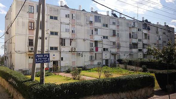 בניין מגורים בשכונת רמת אליהו בראשון לציון, צילום: דוברות עיריית ראשון לציון