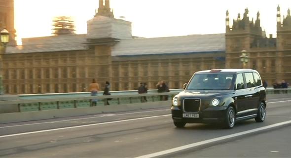 המונית הלונדונית מקבלת מנוע חשמלי