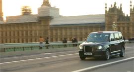 מונית חשמלית בלונדון, צילום רויטרס