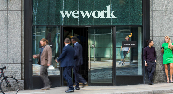 WeWork in London. Photo: Bloomberg