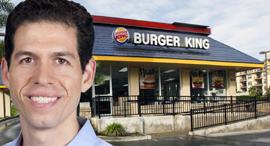 """דניאל שוורץ מנכ""""ל ברגר קינג , צילום: Burger King"""