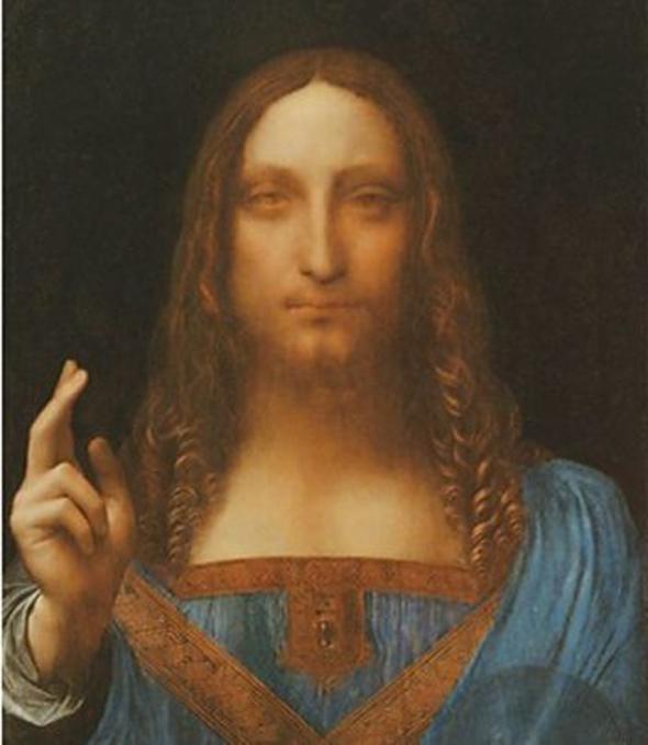 """היצירה """"Salvatore Mondi"""" של לאונרדו דה וינצ'י"""
