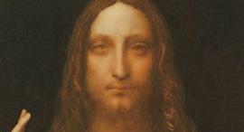 """היצירה """"Salvatore Mondi"""" של לאונרדו דה וינצ'י נמכרה ב-450 מיליון דולר"""