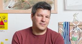 פנאי אמיר זיו ו כותב ספרים ו טורים אישיי, צילום: Jonathan Bloom