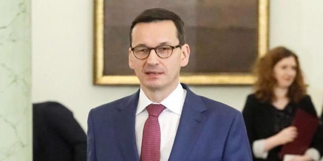 שר האוצר הפולני מתאוש מורביצקי מונה לראש ממשלה