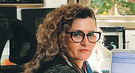 """ד""""ר איה לוריא מנהלת מוזיאון הרצליה, צילום: עמית שעל"""